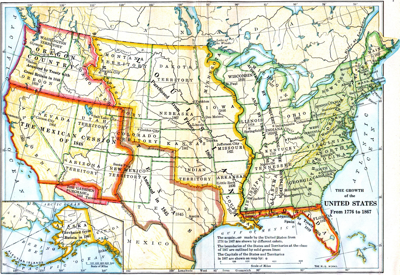 US Map AmericanHistorymapsmapsUSmapjpghtml The United - 1836 maps us