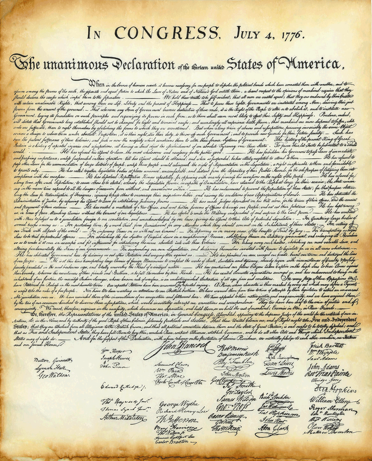 The Declaration of Independence (as read by Max McLean ...